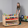 Multi Functional Wooden Trolley  small