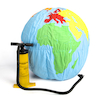 Giant Soft World Globe KS1  small