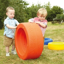 Role Play Colourful Tyres   medium