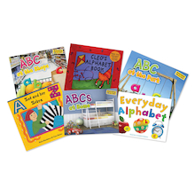 Learn The Alphabet Book Pack  medium