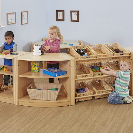 Rushton Early Years Natural Wooden Furniture Set  large