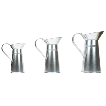 Metal Jugs 3pcs  large