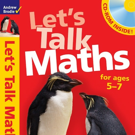 Let\'s Talk Maths Activity Book and CD  large