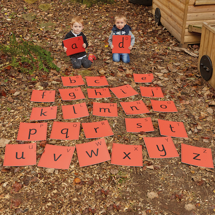 Outdoor Alphabet Mats  large