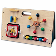 Wooden Manipulative Activity Centre  medium