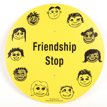 Friendship Stop Playground Sign  large