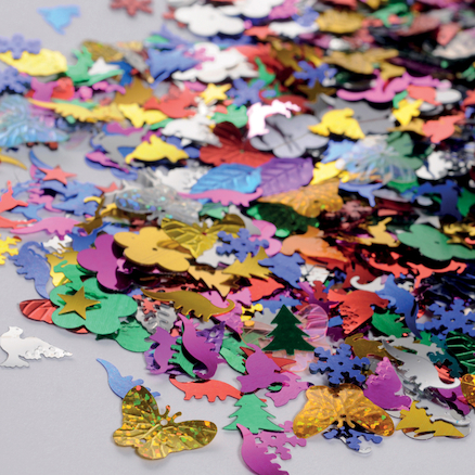 Assorted Sequins and Spangles 500g  large
