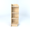 Right Hand Library End Bookcase In Maple  small