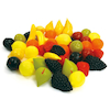 Role Play Plastic Fruit 48pcs  small