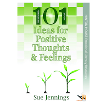 101 Activities for Positive Thoughts Book  medium