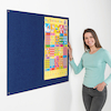 Eco Frameless Noticeboard  small
