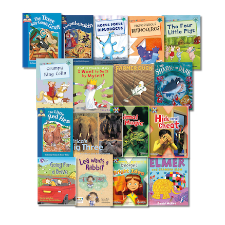 Turquoise Band Reading Book Pack  large