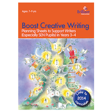 Boost Creative Writing Planning Sheets Workbook  medium