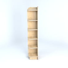 Left Hand Library End Bookcase In Maple  medium