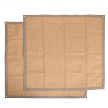 TTS Hessian Display Table/Wall Cloths 2pk  medium