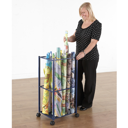 Active World Tuff Tray Mat Metal Storage Trolley  large