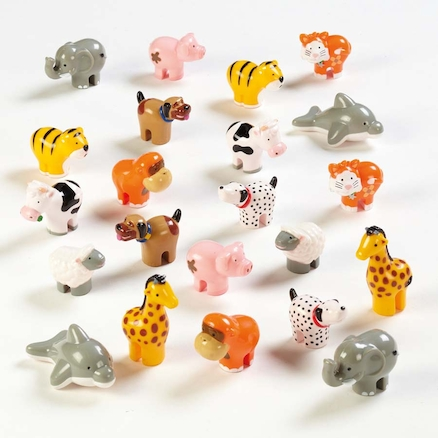 Wow Toys Plastic Animals 22pk  large