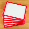Dry Wipe Magnetic Boards 6pk  small