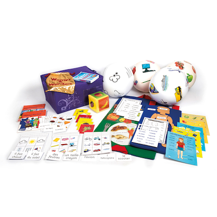 KS2 Learners French Resources Classroom Kit  large