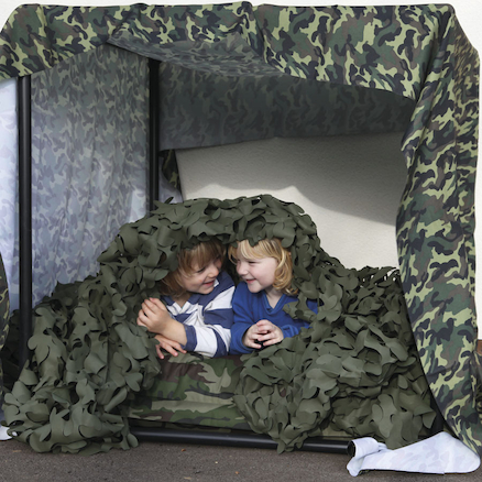 Camouflage Den Making Material 4m  large
