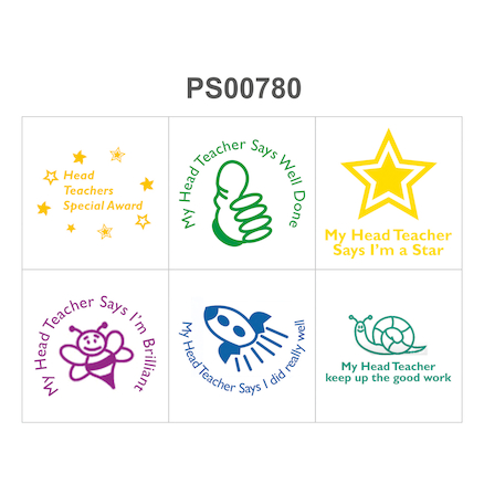 Headteacher Stamp Set  large