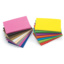 Assorted Foam Sheets 100pk  medium