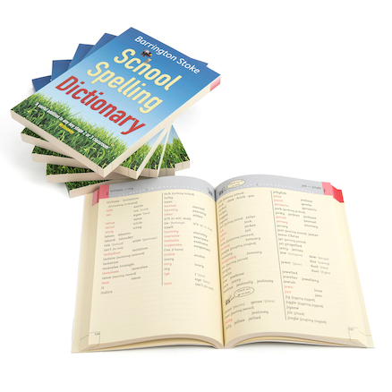 Barrington Stoke School Spelling Dictionary 6pk  large