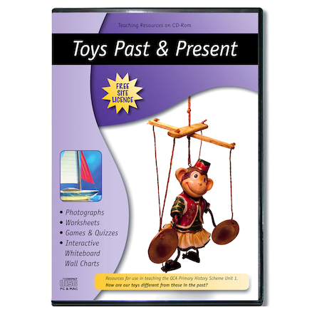 Toys Past and Present CD ROM  large