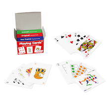 Playing Cards - assorted 3pk  medium