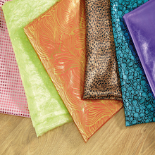 Assorted Metallic Display Fabric 1.5m 6pk  medium