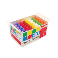Assorted Chubbie Chalks 40pk  medium