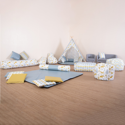 Log Cushion and Sit Upons Offer  large