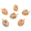 Jewish Childrens Game Wooden Dreidels  small