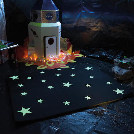 Glow in the Dark Sensory Mat  large