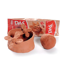 Das Air Hardening Modelling Clay 5kg  medium