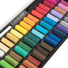 1/2 Size Soft Pastels Assorted 48pk  medium