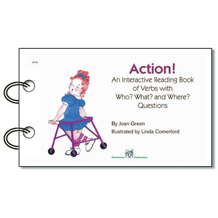 Action Interactive Reading Book  large