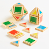 Wooden Magnetic Polydron Shapes 32pk  small