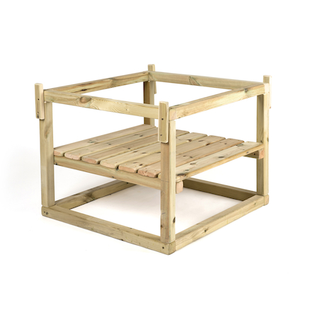 Wooden Active World Stand  large