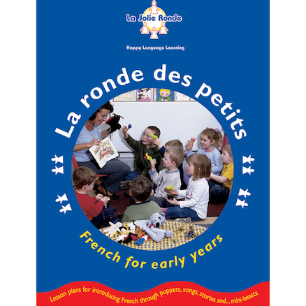La Ronde Des Petits French Activity Book and CD  large