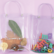 Transparent Collector bags 10pk  medium