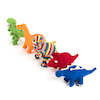 Knitted Dinosaurs Set of 5  small
