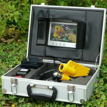 Waterproof Camera And Monitor System For Ponds  large