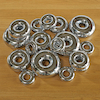 Marvellous Metallics Mirror Stacking Donuts 16pk  small