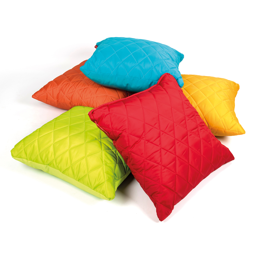 buy quilted mega cushions 5pk tts