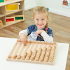 Wooden Number Collection Board  small