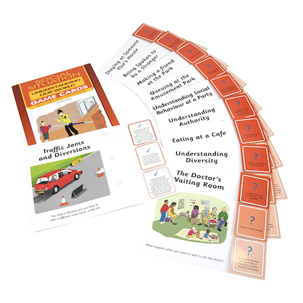 Understanding My World Social Situation Games 10pk  large