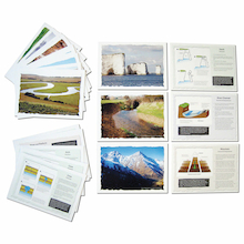 Geographical Features Cards A5 20pk  medium
