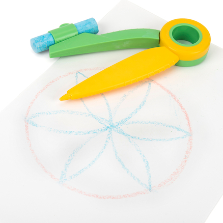 Chalk Compass (inc 3 chalks)  large