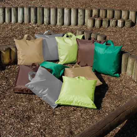 Lightweight Assorted Natural Cushions 10pk  large